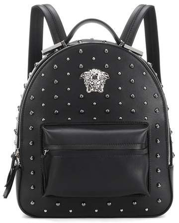 Versace City Stud Palazzo Empire Backpack Afflink Studded Backpack Versace Bag Versace Backpack