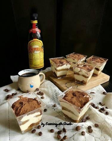 Resep Tiramisu Dessert Box Oleh Cooking With Sheila Resep Hidangan Penutup Makanan Penutup Mini Makanan
