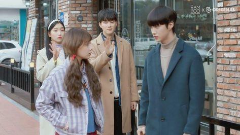 المسلسل الكوري المدرسي متجر الساحرة الحلقة 8 Lab Coat Coat Mems