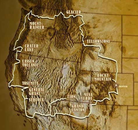 The National Park-to-Park Highway; been to Yosemite, Grand Canyon, and Yellowstone.still have a lot left to see! Estes Park Colorado, Vacation Destinations, Vacation Spots, Vacation Trips, Vacation Ideas, Places To Travel, Places To See, Travel Stuff, Utah