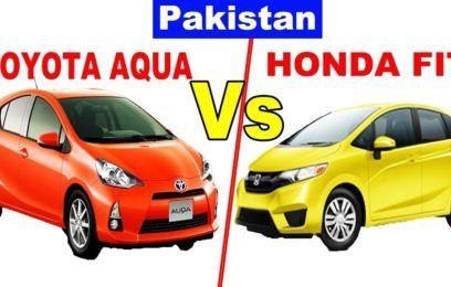 Toyota Aqua Vs Honda Fit Hybrid Pakistan Upcoming Cars Honda Fit Hybrid New Upcoming Cars