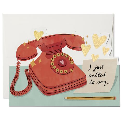 Just Called Card