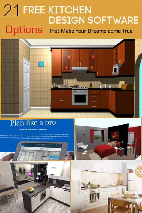 design the layout of your dream kitchen with this easy to