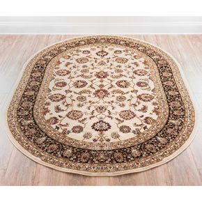 Fleur De Lis Living Janell Oriental Brown Area Rug Area Rugs Rugs Well Woven