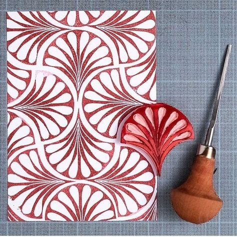 Abstract Wooden Blocks Pineapple Designs Printing Stamps