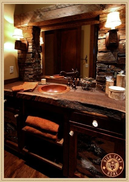Sweet Country Bathrooms With Wainscoting View Rustic House Rustic Bathrooms Home