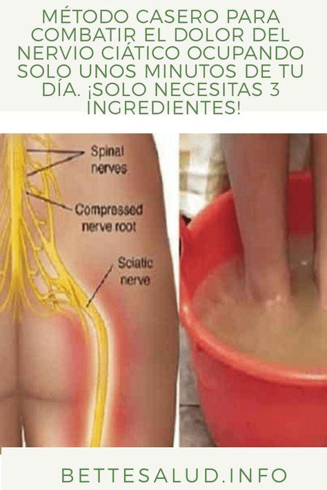 como combatir el dolor del nervio ciatico