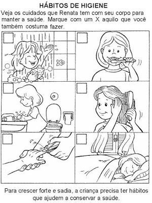 40 Atividades Sobre Higiene Para Imprimir Educacao Infantil Em