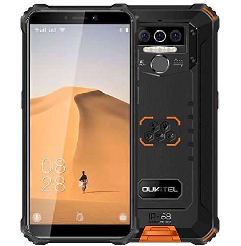 4g Telephone Portable Incassable 2020 Oukitel Wp En 2020 Telephone Portable Lampe De Poche Smartphone