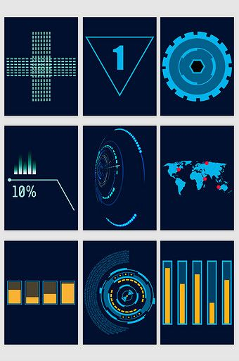 Technological Data Electronic Vector Electronics Vector Graphic