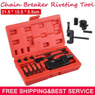 Details About Chain Breaker Kit Cam Motorcycle Cutter Rivet Tool