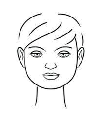 Resultado De Imagem Para Desenhos De Rostos Femininos Para Colorir