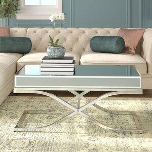 Willa Arlo Interiors Jeannie Extendable Cross Legs Coffee Table Coffee Table Chic Coffee Table Coffee Table Wayfair