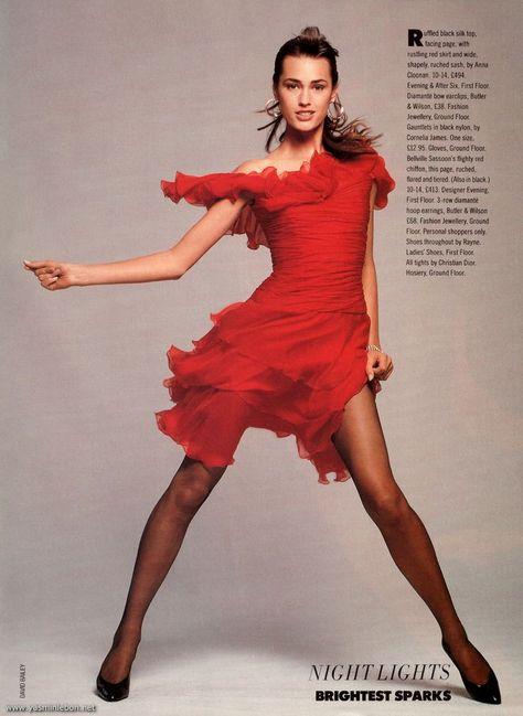 Yasmin Le Bon for Valentino 1988