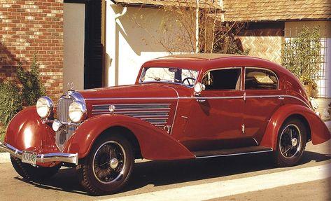 1932 Austro-Daimler ADR8 Alpine Sedan