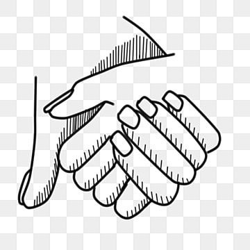 Line Drawing Handshake Cooperation Handshake Line Drawing Cooperation Png Transparent Clipart Image And Psd File For Free Download In 2021 Line Drawing Drawings Business Illustration