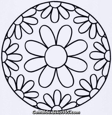 Kindergarten Mandalas Fur Kindergartenkinder Zum Ausdrucken Geometrisches Mandala Tattoo Einfaches Mandala Mandalas Kinder