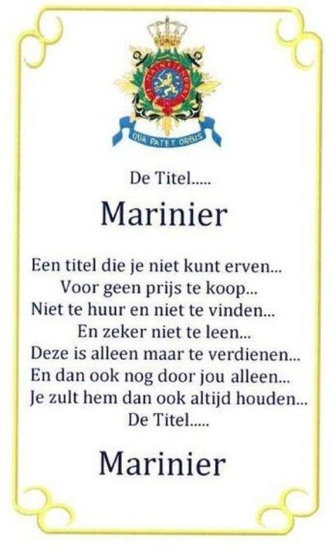 Eens Marinier Altijd Marinier