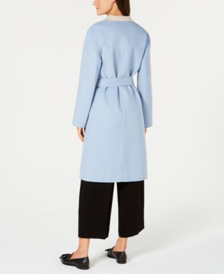 Weekend Max Mara Didy Wrap Coat Blue 14 Blazer Jackets For Women Wrap Coat Coat