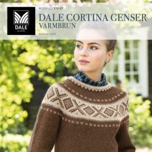 DG370 15 Dale Cortina genser – denim – Dale Garn | Genser