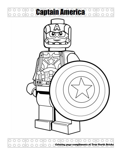 Super Heroes Super Hero Coloring Sheets Lego Coloring Captain