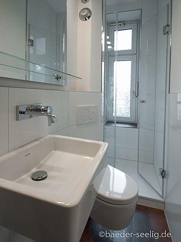Badsanierung Minibad In Hamburg Shower Radiator Floor Tiles Corner Toilet Wall Arm Badsanierung Floor Small Bathroom Small Shower Room Corner Toilet