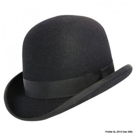 ca4fb48346c7c Devon Fur Felt Bowler Hat with Adjustable Hunting Pad