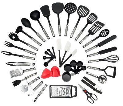 NexGadget Premium Kitchen Utensils 42 Pieces Kitchen ...