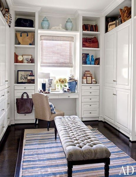 Closet Home Office Space Saver When You Just Have To Have A Home Desk But Don T Have Room To B In 2020 Dressing Room Design Built In Furniture Dressing Room Closet