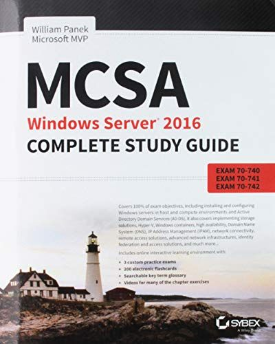 Free Download MCSA Windows Server 2016 Complete Study Guide: Exam 70