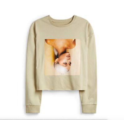 Ariana Grande Sweetener Cropped Jumper UK Sizes 4-20