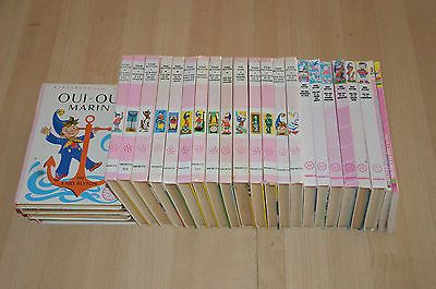 Lot 23 Oui Oui Livres Collection La Bibliotheque Rose