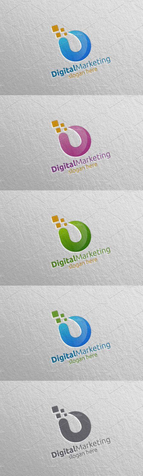 Digital Marketing Financial Logo 52