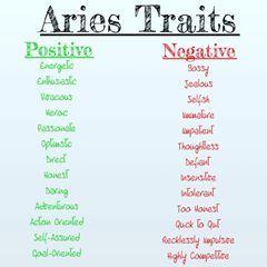 Aries woman bad traits