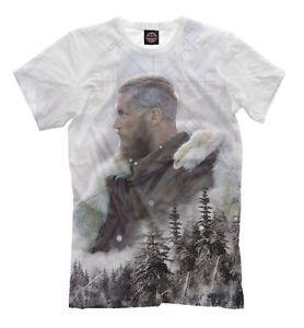 7c1acf28 Ragnar Lodbrock t-shirt - HD print Ragnarr Loðbrók the Vikings fan ...