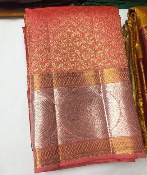 Pure Gold Zari Kanjivaram Silk Sarees Pl Contact Us At 918056477235 Whatsapp For Orders And Details We Accept Onli Silk Saree Banarasi Pure Silk Sarees Saree