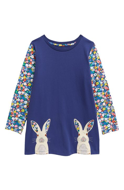 Our Favorite Floppy 3d bunny top Custom Spring Seersucker Embroidery Boutique Easter