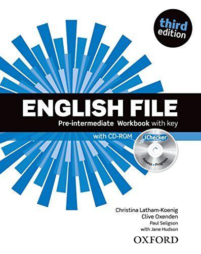 Télécharger English File Pre Intermediaire Workbook With Key 1cédérom Pdf Par Clive Oxenden Christina Latham Koenig Paul Seligson Boeken Oxford Student