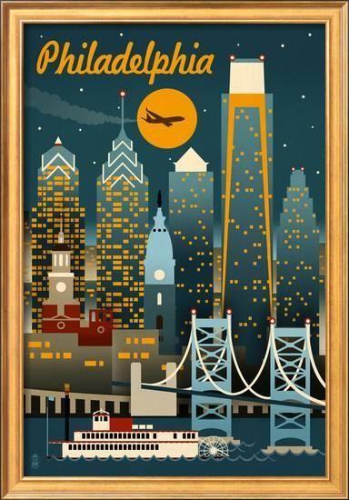 Allposters Com In 2021 Philadelphia Artwork Art Gallery Wall Art