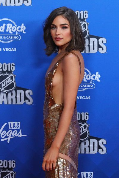 Olivia Culpo attends the 2016 NHL Awards at the Hard Rock Hotel & Casino.