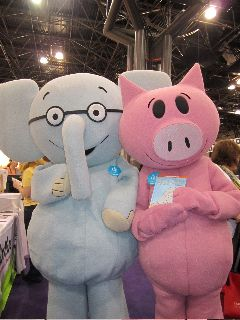 Yes, there is a new Elephant and Piggie (Should I Share My Ice Cream?; Mo Willems, Hyperion,9781423143437; 6/14)