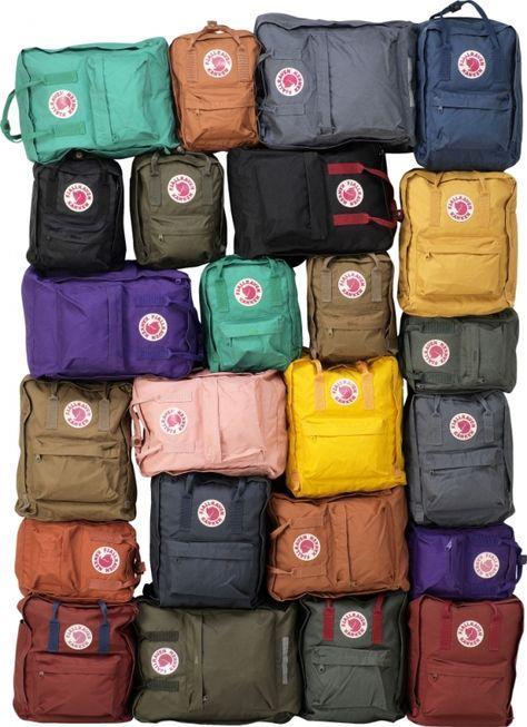 Fjallraven Kanken Selection Kanken Backpack Bags Backpack Bags