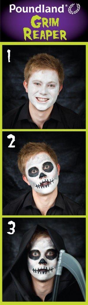 Easy Grim Reaper Makeup : reaper, makeup, Reaper, Makeup, Ideas, Makeup,, Reaper,, Halloween