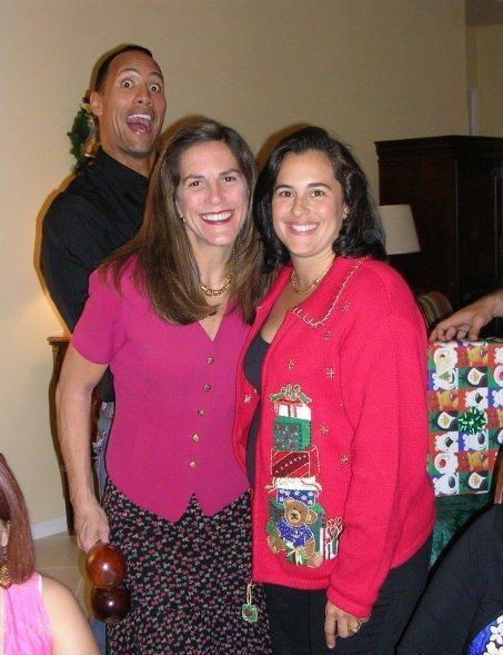 The Rock At a secretarys retirement party?