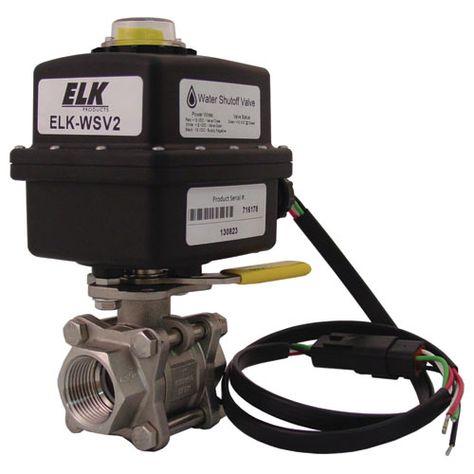 Elk Electric Water Shut Off Valve Water Shut Off Valve Plumbing Problems Plumbing Plumbing Emergency