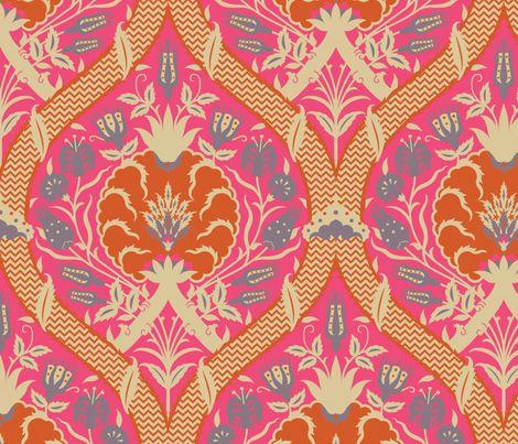 Serpentine754 fabric by muhlenkott on Spoonflower - custom fabric