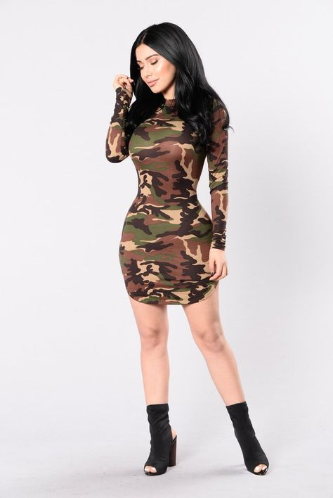 - Available in Ivory, Camo, Black, Nude and Mustard - Long Sleeve - Crewneck - Double Lined - Rounded Hem - Made in USA - Rayon Spandex
