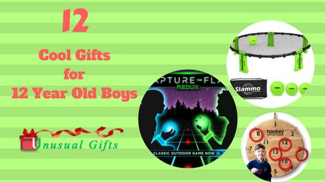12 Cool Gifts For 12 Year Old Boys They Would Absolutely Love
