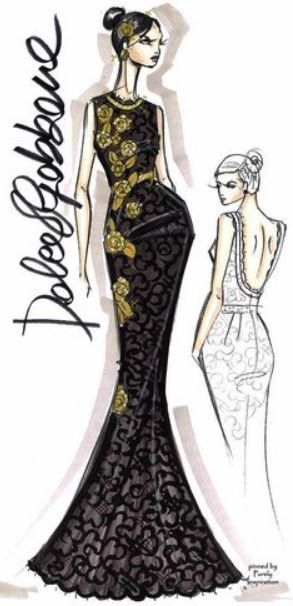 Fashion Design Sketches By World S Top Fashion Designers Fashion Illustration Top Design Fashion Fashion