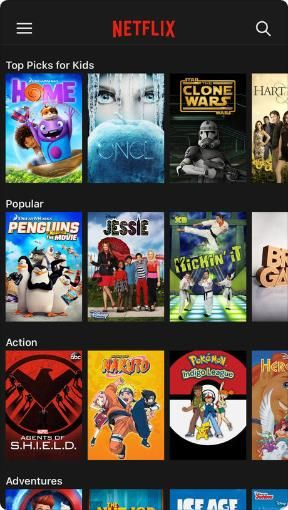Net flix adds TV shows and movies all the time  Browse titles or